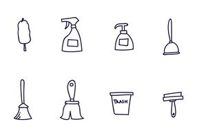 Cleaning Icon Vectors