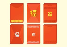 Red Packets Vector Collection