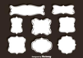 Ornament Frames Vector Set