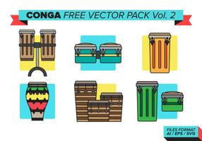 Conga Free Vector Pack Vol. 2