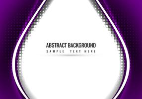 Purple Vector Wavy Background