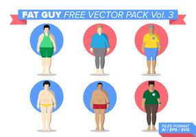 Fat Guy Free Vector Pack Vol. 3