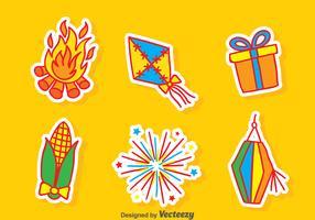 Festa Junina Element Vector