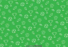Soccer Green Pattern
