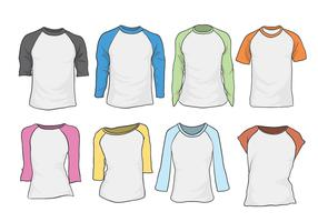 Free Raglan Vector Set