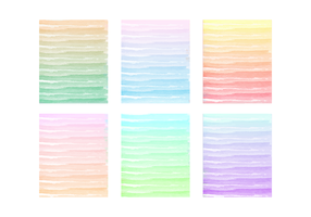 Vector Painted Watercolor Backgrounds