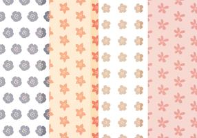 Vector Cute Floral Patterns