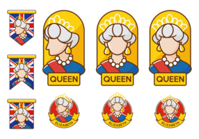 Queen Elizabeth Vector