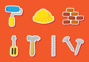 Construction Sticker Icons