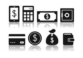 Free Minimalist Banking Icon Set