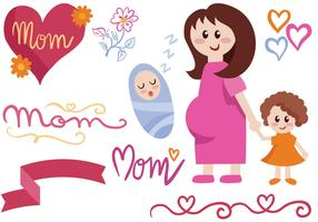Free Motherhood Vectors