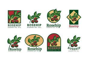 Rosehip Logo Vector