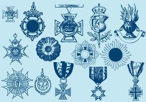 Crosses Badges And Ornaments