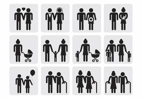 Free Family Icons Vector