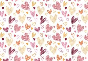Free Hearts Pattern Vectors