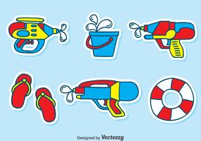 Playing Water Element Vector