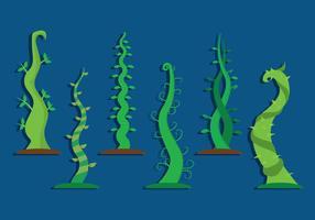 Beanstalk Vector