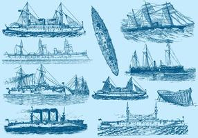 Vintage Boats And Ships