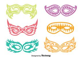 Pageant Mask Vector Set