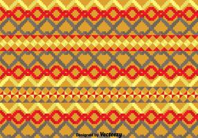 Geometric Ethnic Songket Pattern