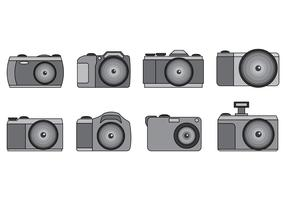 Set Of Camara Vector