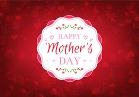 Free Vector Happy Moms Day Illustration