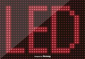 Led Screen Background - Vector Elements