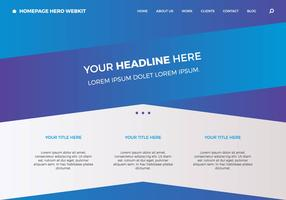 Free Homepage Hero Webkit 4