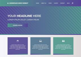 Free Homepage Hero Webkit 6