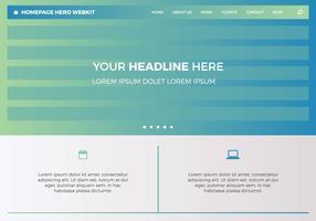 Free Homepage Hero Webkit 2