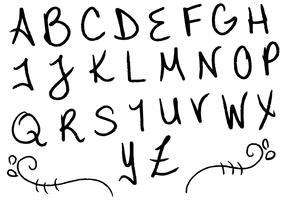 Letras Letters Alphabet Set F