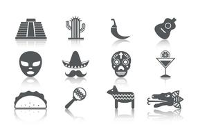 Free Mexico Icons Vector
