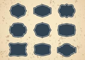 Free Vintage Frames or Cartouches Vector