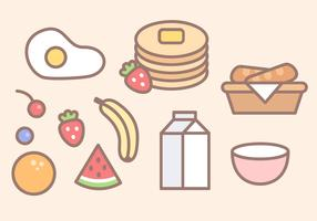 Free Breakfast Food Vector