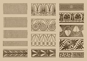 Griechische Ornamente