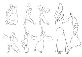 Flamenco Dancer Vectors