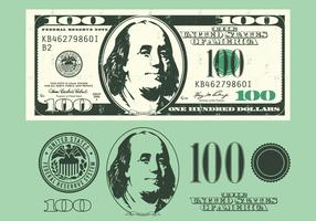 100 Dollar Bill Elements