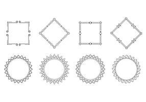 Free Cartouche Frame Vector