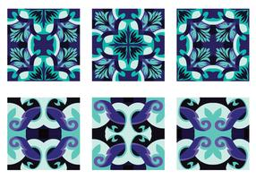 Pretty Portuguesse Tile Vector