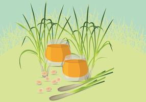 Free Lemongrass Illustration