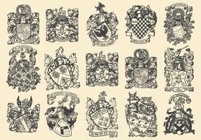 Komplexe heraldische Embleme