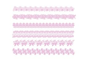 Lace Trim Vector
