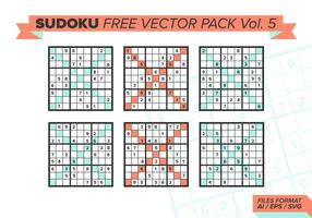 Sudoku Free Vector Pack Vol. 5