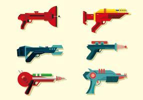 Laser Gun Vector Pack