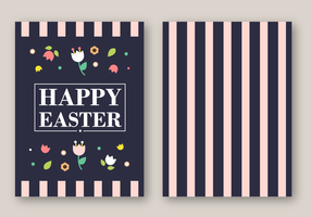 Free Easter Card Vector