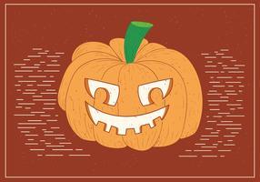 Free Spooky Vector Pumpkinhead