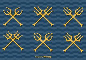 Poseidon Vector Tridents