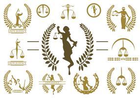 Free Lady Justice Logo Vector