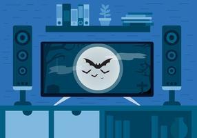 Halloween Movie Vector Design