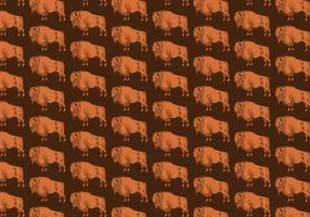 Buffalo Seamless Pattern